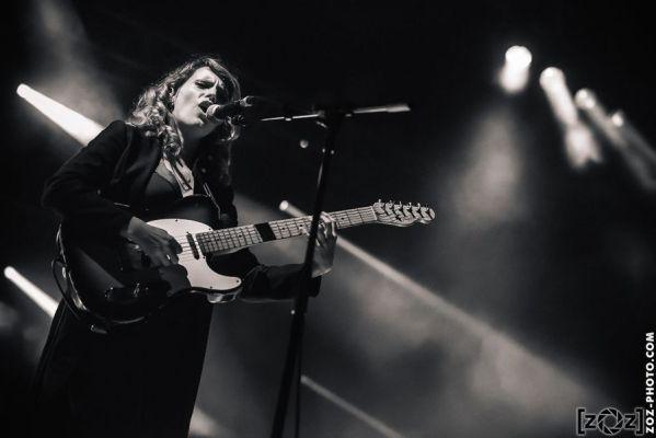 Anna Calvi, festival Musiques en stock (Cluses), le 5 juillet 2014.