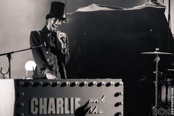 Charlie and the Soap Opera, le Transbordeur (Villeurbanne), le 8 novembre 2014.