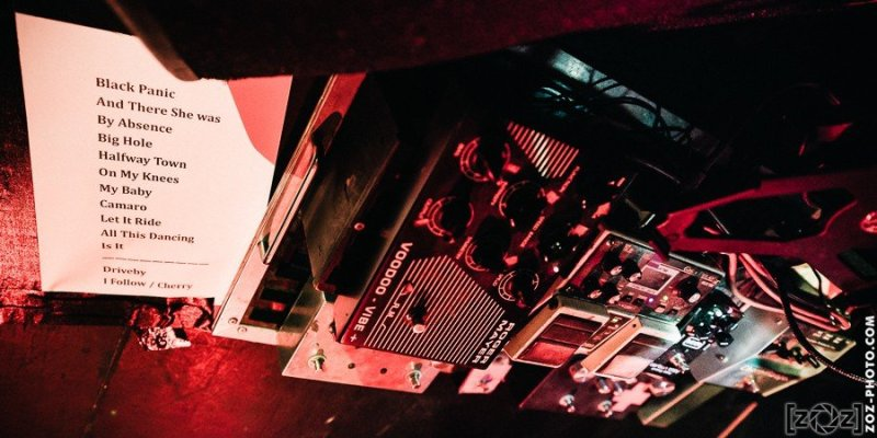 Triggerfinger, la Cave à Musique (Mâcon), le 29 mars 2015.