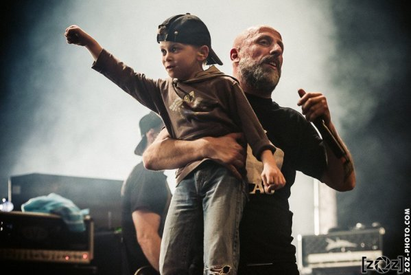 Black Bomb A, We rock Lyon festival, Transbordeur (Villeurbanne), le 9 avril 2015.