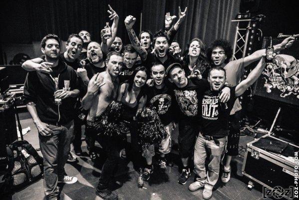 Tagada Jones & Opium du Peuple, D-Viation festival (Albertiville), le 25 avril 2015.