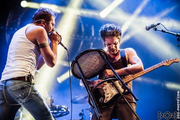 """Magnus, festival """"Musiques en stock"""" (Cluses), le 4 juillet 2015."""