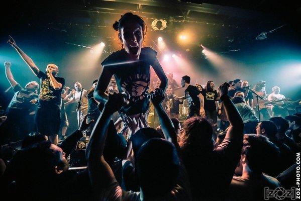 Concert à l'Atelier (Cluses), le 5 février 2016.