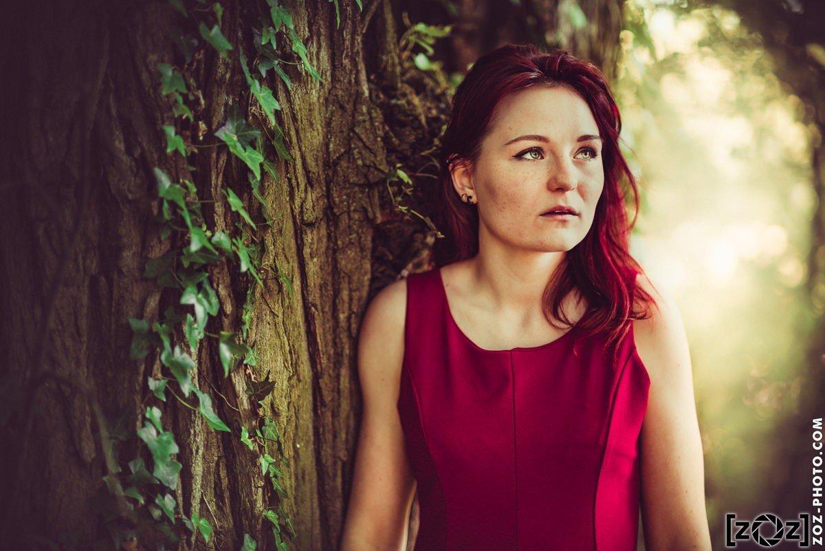 Anne-Sophie: heureuse gagnante du premier concours photo