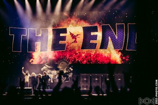 Black Sabbath au Hellfest à Clisson, le 19 juin 2016. Festival de musiques extrêmes et metal en France.