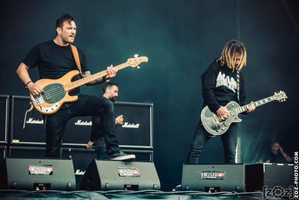 Mass Hysteria, Hellfest (Clisson), le 17 juin 2016.