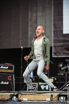 No One is Innocent au Hellfest à Clisson, le 19 juin 2016. Festival de musiques extrêmes et metal en France.