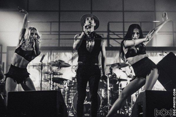 Jane's Addiction au Hellfest à Clisson, le 19 juin 2016. Festival de musiques extrêmes et metal.