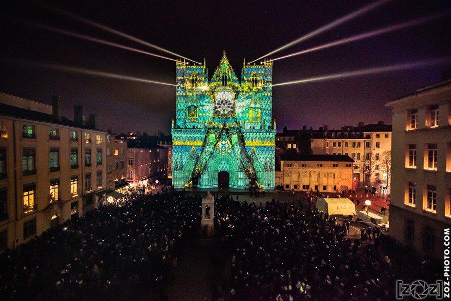 Fête des Lumières 2016: Pari réussi pour Yann Nguema et EZ3kiel