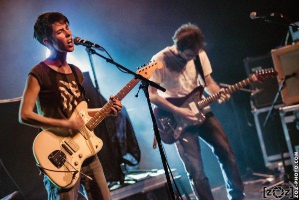 Ashkey, concert au Jack Jack à Bron, le 10 mars 2017.