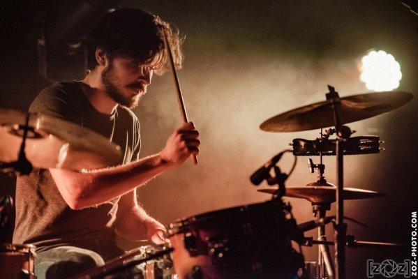 The Wild Sons, concert au Jack Jack à Bron, le 10 mars 2017.
