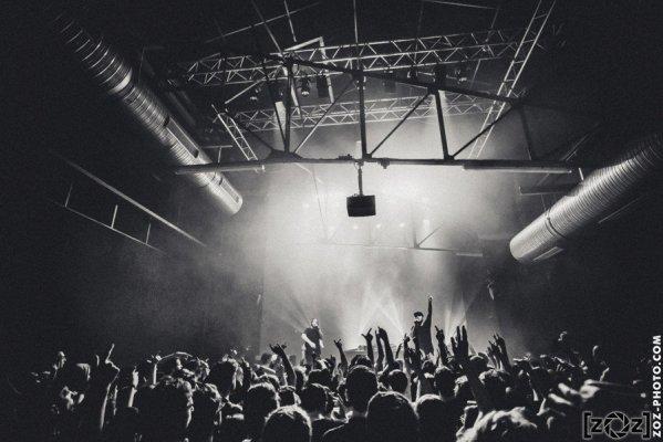 Chill Bump, concert au Bizarre ! (Vénissieux), le 30 mars 2017.