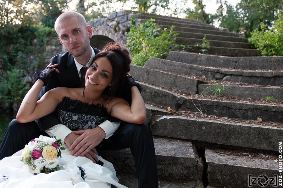 Traitement mariage : photo brute