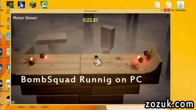 Bombsquad exe file running on pc