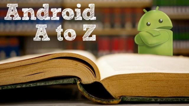 android studio terminologies