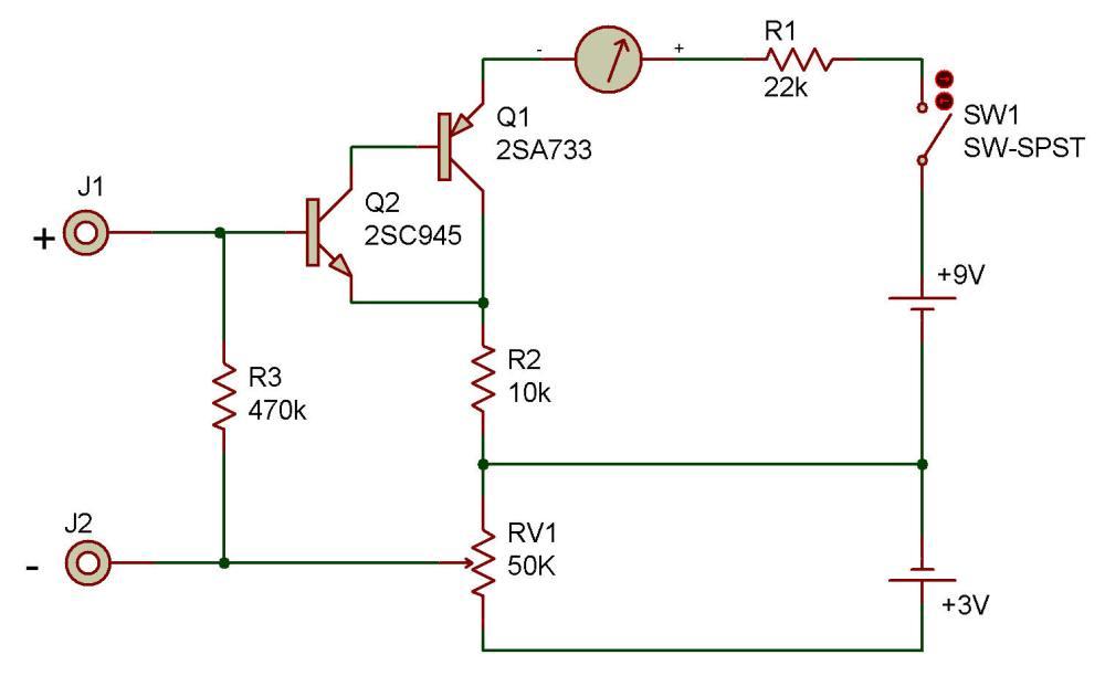 medium resolution of circuit diagram with voltmeter