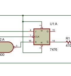 circuit diagram of d flip flop [ 2008 x 856 Pixel ]