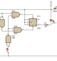 latching circuit line diagram [ 1963 x 1453 Pixel ]