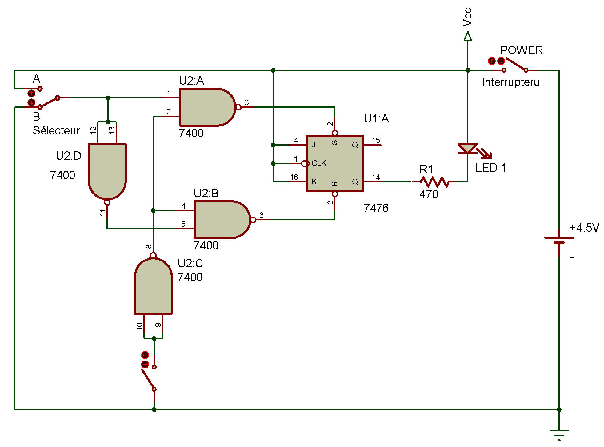 hight resolution of latching circuit diagram