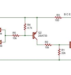 the purpose of this project is to study a logic or circuit as used in computers the readout is connected to display the letter h when either terminal a or  [ 2230 x 1115 Pixel ]