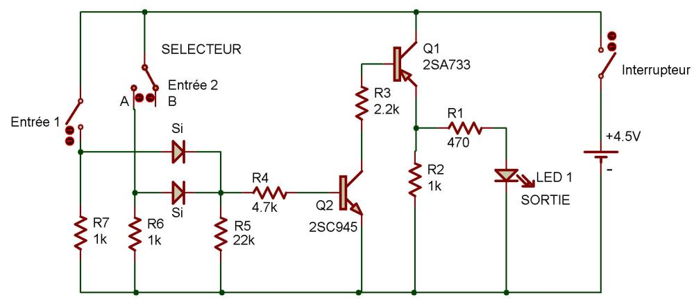 medium resolution of logic diagram and gate