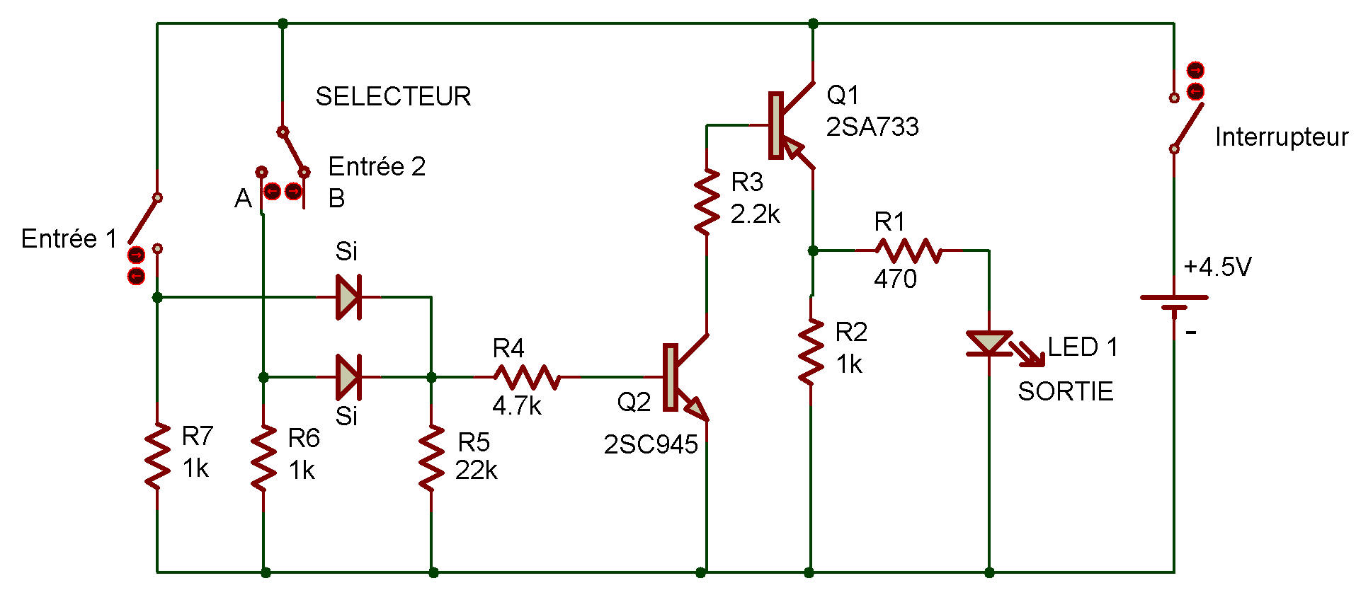 hight resolution of logic diagram and gate