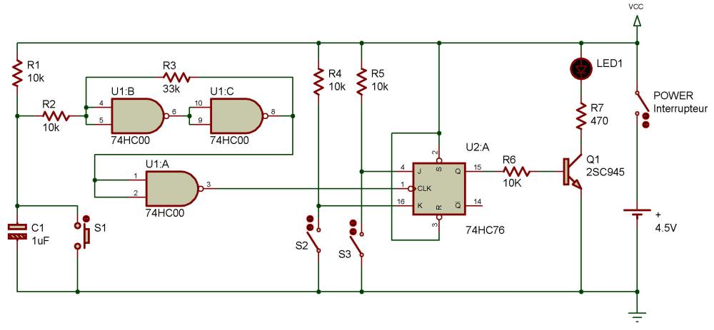 medium resolution of in project transistorized toggle flip flop you saw how a flip flop circuit can be toggled so that we can have additional control over it