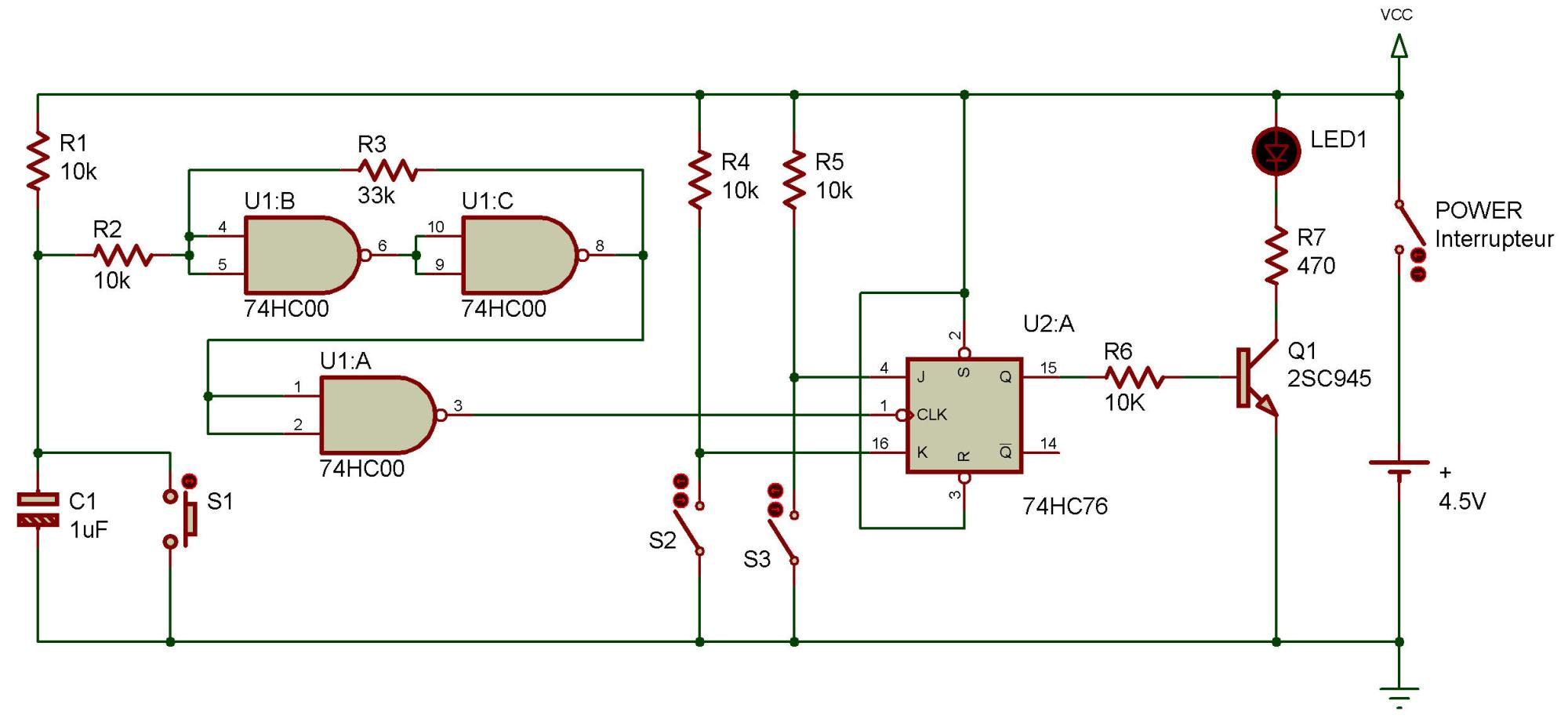 hight resolution of in project transistorized toggle flip flop you saw how a flip flop circuit can be toggled so that we can have additional control over it
