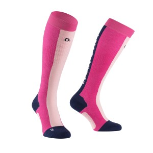 CROSS COUNTRY SOCK PINK