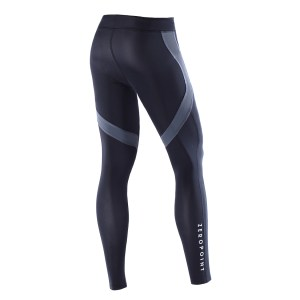 Men Athletic Tights black back