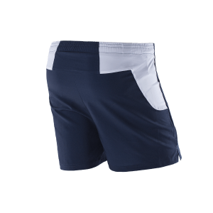 Running shorts Space Blue back