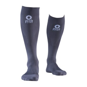 grey-compression-sock