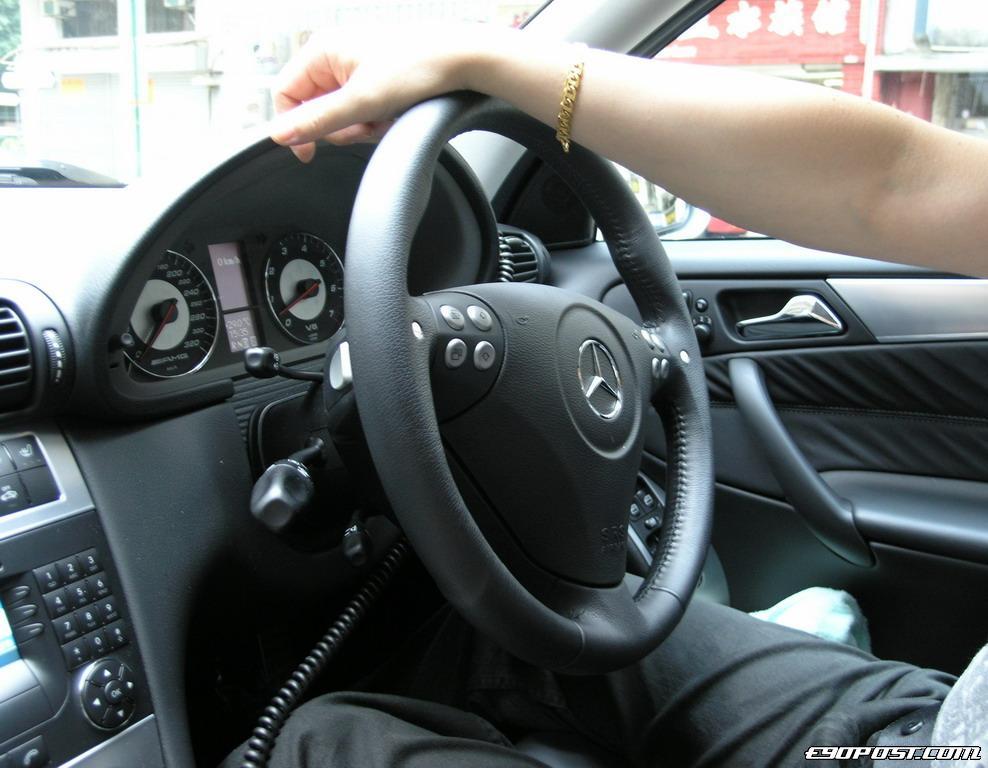 cntlaws 2005 Mercedes Benz C55 AMG W203  BIMMERPOST Garage