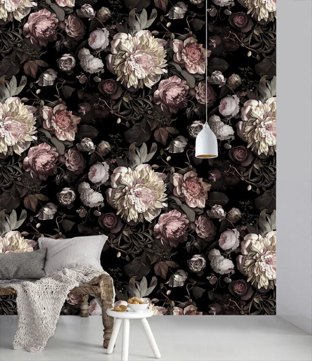 tapety, kwiaty, fototapety