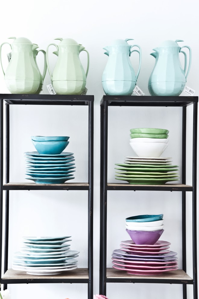 kolorowa ceramika