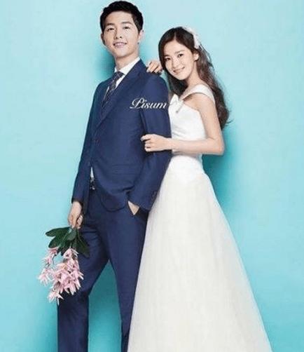 宋仲基宋慧喬婚紗照被曝光 中西韓結合太美了