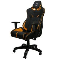 ZQRacing Viper GT Series Gaming Office Chair-Orange/Black ...