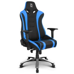 Office Chair Video Game With Backrest Zqracing Alien Xl Series Gaming Blue Black