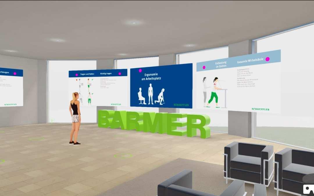 Mit Virtual Reality Mitarbeitergesundheit fördern