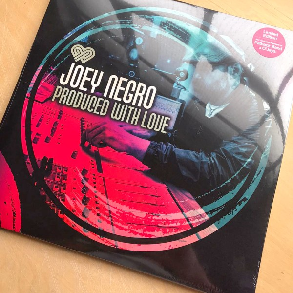 produced with love joey negro vinyl lp