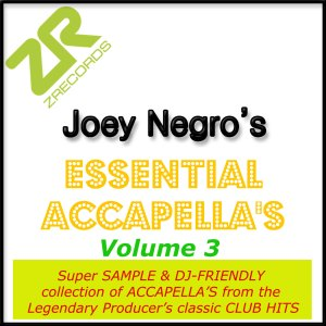 Joey Negro's Essential Acapellas Volume 3