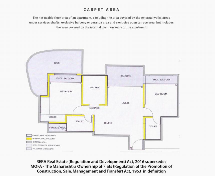 What is Carpet Area  Zrickscom