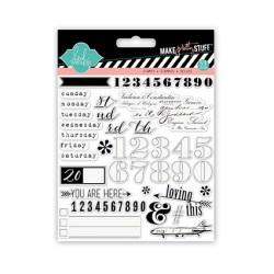 Штампи Numbers, Heidi Swapp, 01226