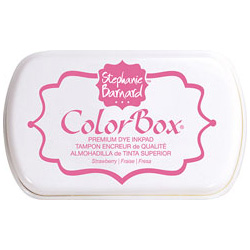 Чорнило ColorBox Premium від Stephanie Barnard, Strawberry, ClearSnap
