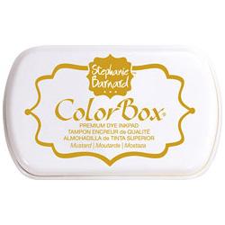 Чорнило ColorBox Premium від Stephanie Barnard, Mustard, ClearSnap