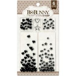 Штампи акрилові I Heart Stars, Bo Bunny, 12105444