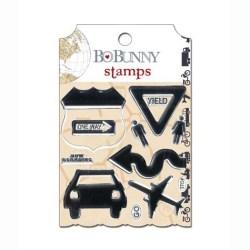 Штампи акрилові Detour, Bo Bunny, 13105335