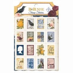 Наклейки – марки Rose Cafe, BoBunny, 17202722