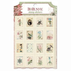 Наклейки – марки Garden Journal, BoBunny, 17602807