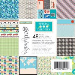 Набір картону Special Delivery Heidi Sonboul, 15х15 см, GCD Studios, 2050
